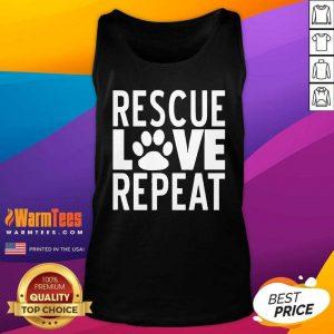 Rescue Love Repeat Tank Top
