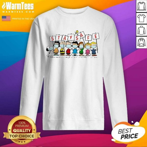Pretty Snoopy And Friends Stay Safe 89 Sweatshirt