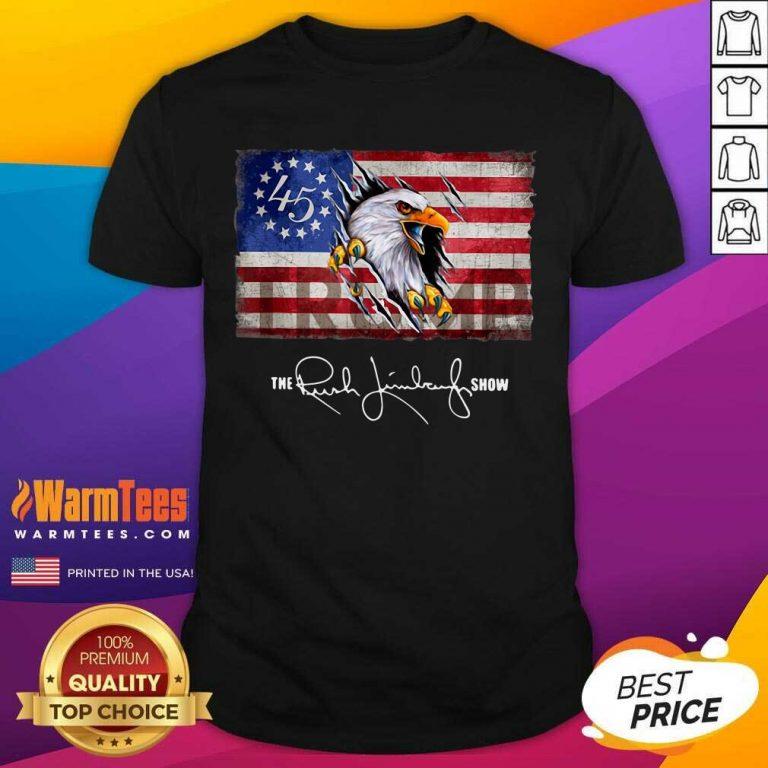 The Rush Limbaugh Show American Flag Shirt