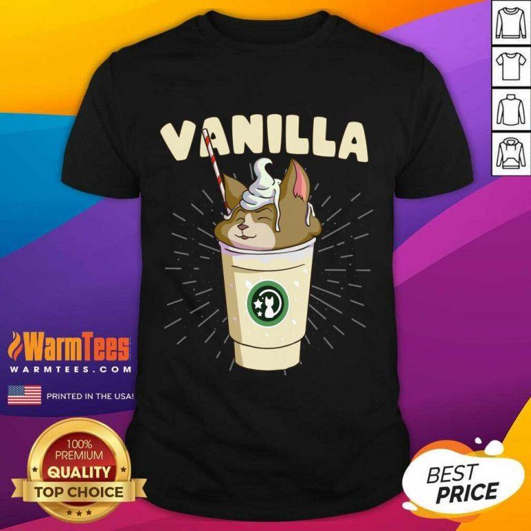 Pretty Vanilla Cappuccino Cute Cat 57 Shirt
