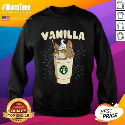 Pretty Vanilla Cappuccino Cute Cat 57 Sweatshirt