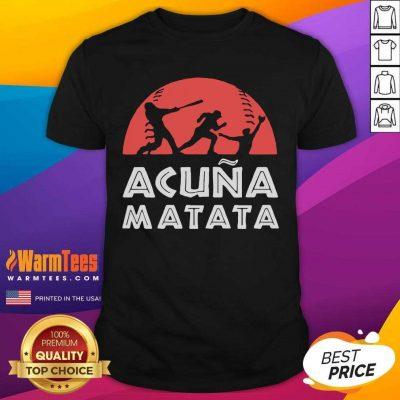 Baseball Hakuna Matata Shirt