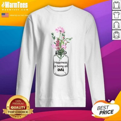 Happiness Is Being An Oma Mother Day SweatShirt