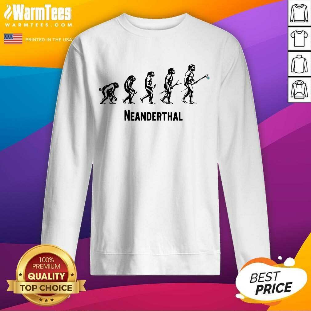 Top Neanderthal Statement Carrying 6 Sweatshirt