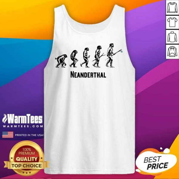 Top Neanderthal Statement Carrying 6 Tank Top