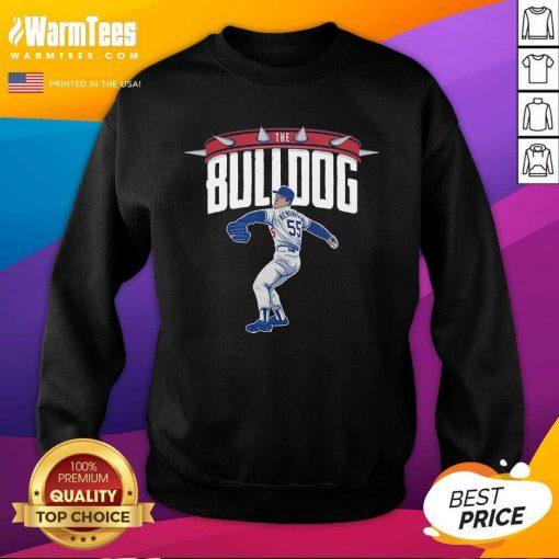 Top Orel Hershiser the Bulldog 55 Sweatshirt