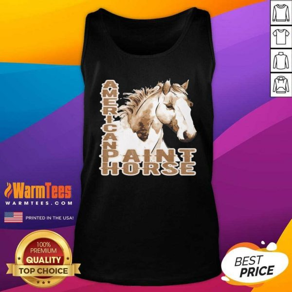 Paint Horse American Tank Top