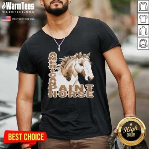 Paint Horse American V-neck