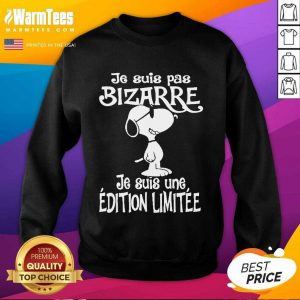 Snoopy Je Suis Pas Bizarre SweatShirt