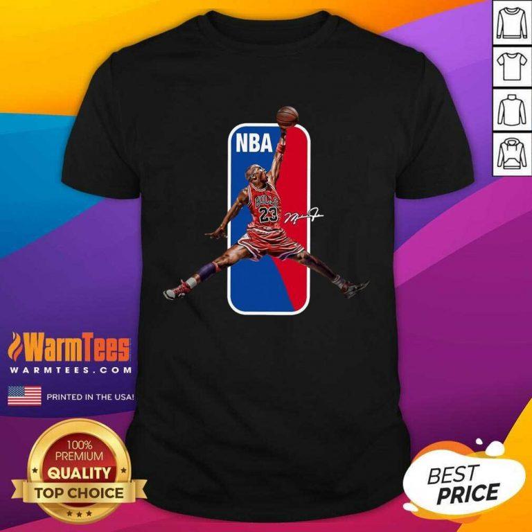 Vip 23 Michael Jordan NBA Relaxed 45 Shirt