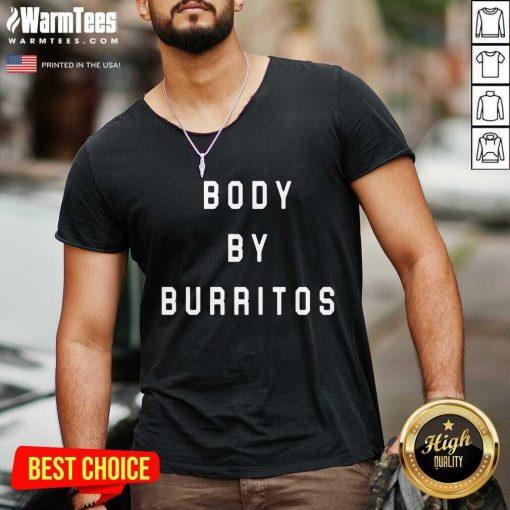 Vip Body By Burritos Overjoyed 2354 V-neck