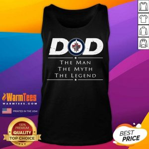 Vip Hockey Dad Man Myth Legend Terrific Tank Top