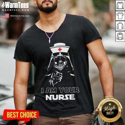 Vip Star Wars I Am Your Nurse 456 V-neck