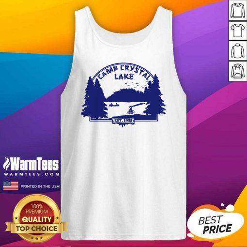 Awesome Camp Crystal Lake Tank Top