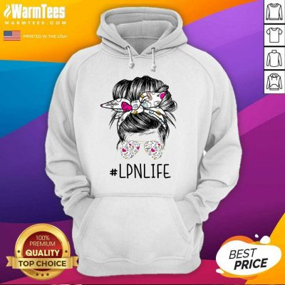 Awesome Girl Glasses LPN Life Hoodie
