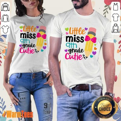 Awesome Little Miss 9th Grade Cutie Ladies Tee