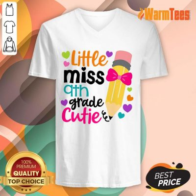 Awesome Little Miss 9th Grade Cutie V-Neck
