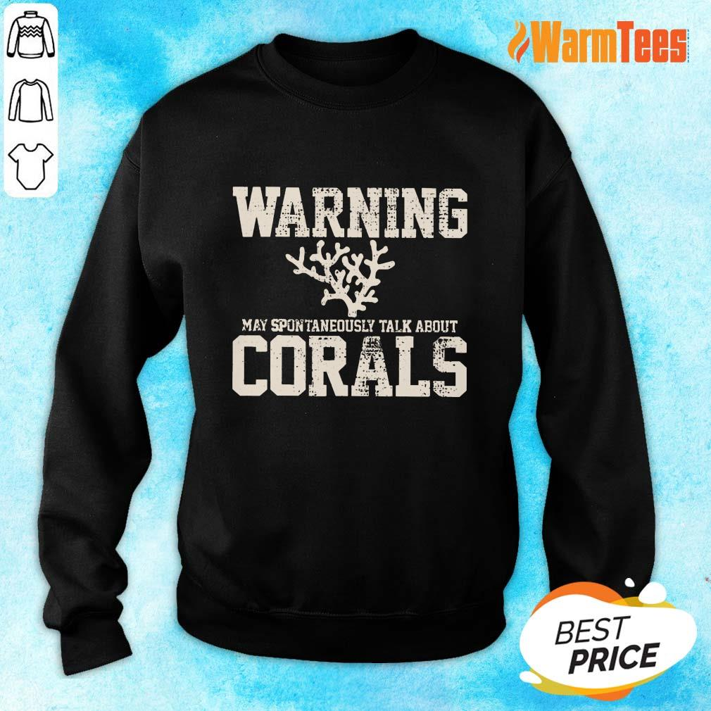 Awesome Warning Coral Aquarist Sweater