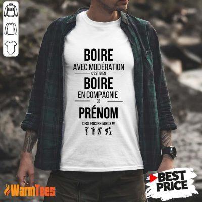 Bien Boire En Compagnie De Elo Shirt