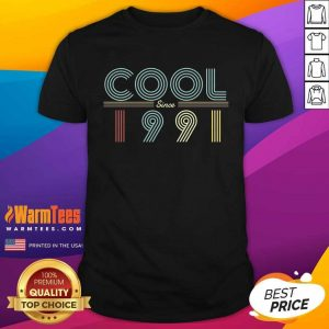 Fantastic Cool Since 1991 Birthday Vintage Shirt