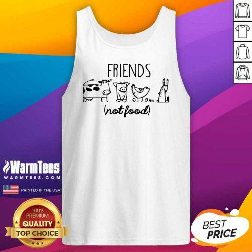 Fantastic Friends Not Food Tank Top