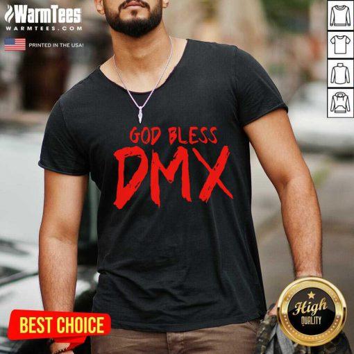 Fantastic God Bless DMX V-neck