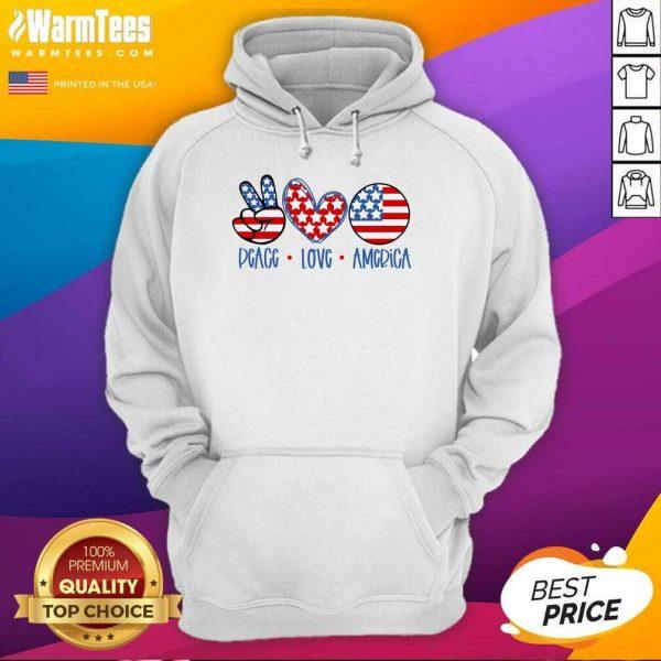 Fantastic Peace Love America Hoodie