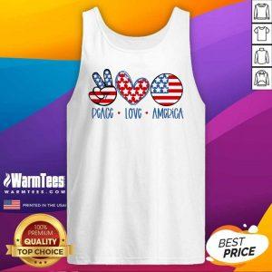 Fantastic Peace Love America Tank Top