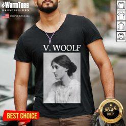 Fantastic Virginia Woolf V-neck
