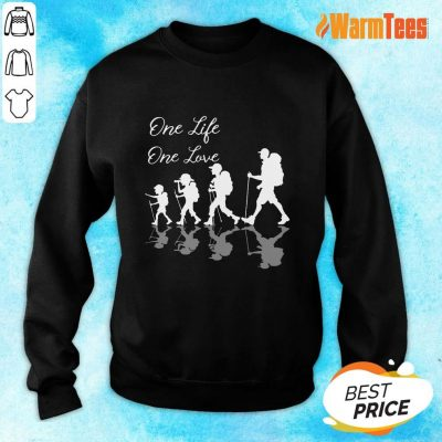 Funny Hiking One Life One Love Sweater