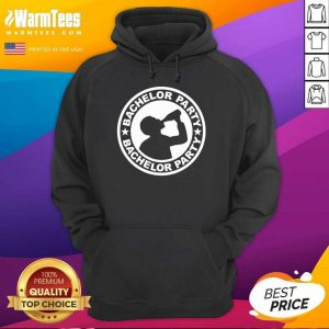 Good Bachelor Party Drinking Wine Bottles Hoodie