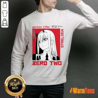 Nice Partner Killer Strelitzia Zero Two Poster Sweater