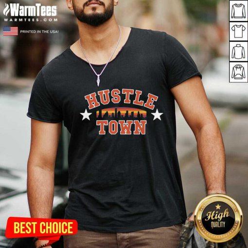 Original Hustle Town V-neck