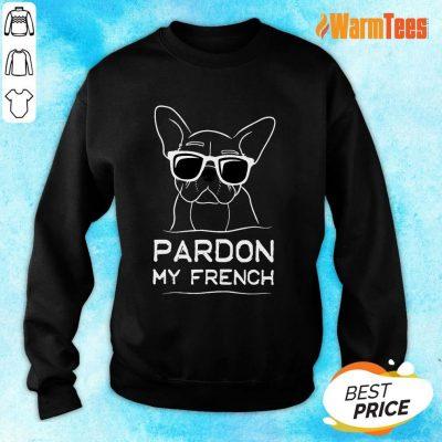 Original Pardon My French Bulldog Sweater