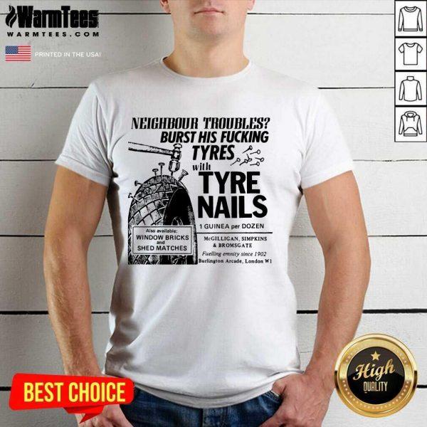 Overjoyed Tyre Nails Shirt