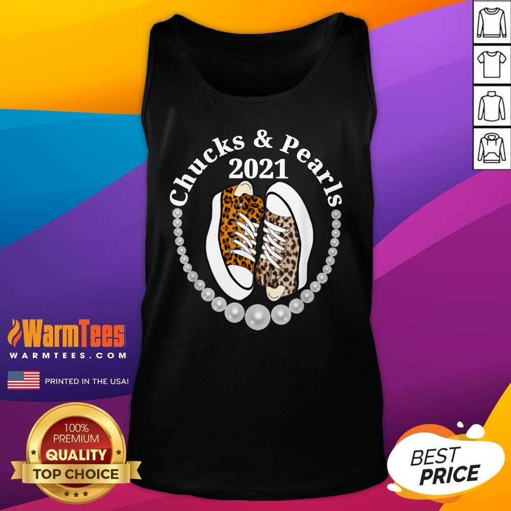Perfect Chucks And Pearls 2021 Leopard Tank Top