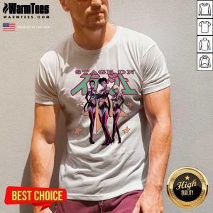 Perfect Sailor Stars From Sailor Moon Stage On V-neck