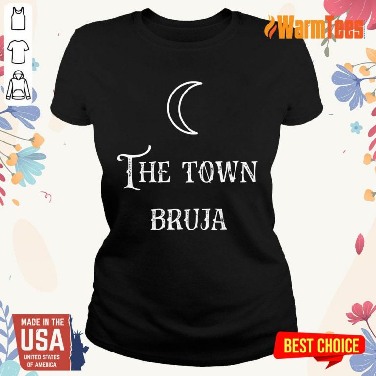 Perfect The Town Bruja Moon Ladies Tee