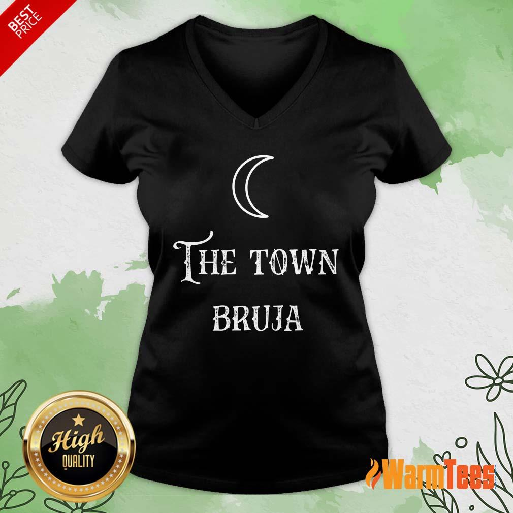 Perfect The Town Bruja Moon V-Neck