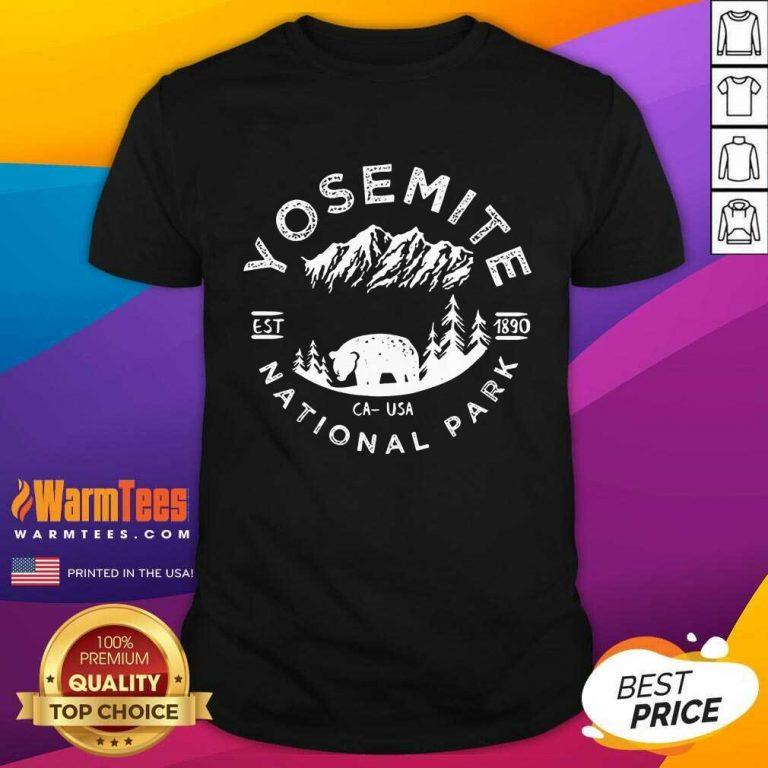 Perfect Yosemite National Park Comfort Colors Shirt