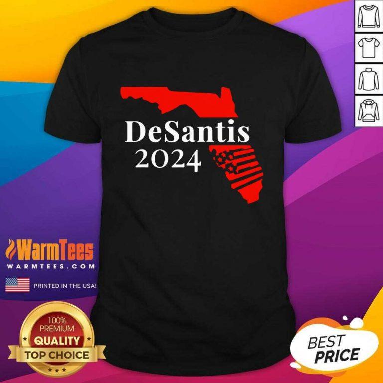 Premium Guns Florida Desantis 2024 Shirt