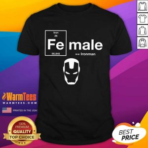 Top Fe Female The Original Iron Man 26 55845 Shirt