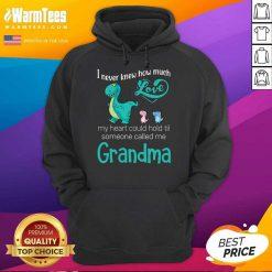Top Saurus I Never Knew How Much Love Grandma Hoodie