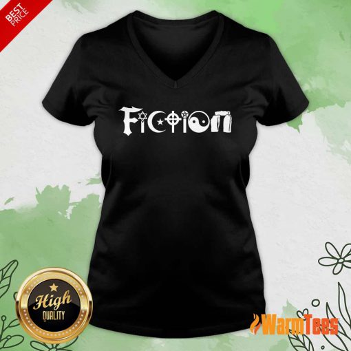 All The World's Religions Are Fiction V-neck