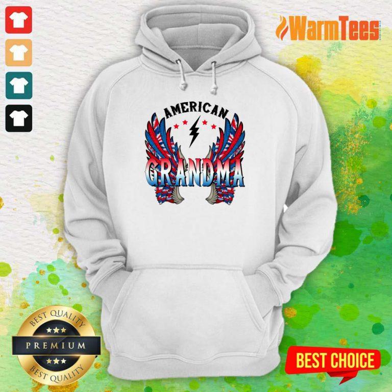 American Grandma Wings Hoodie