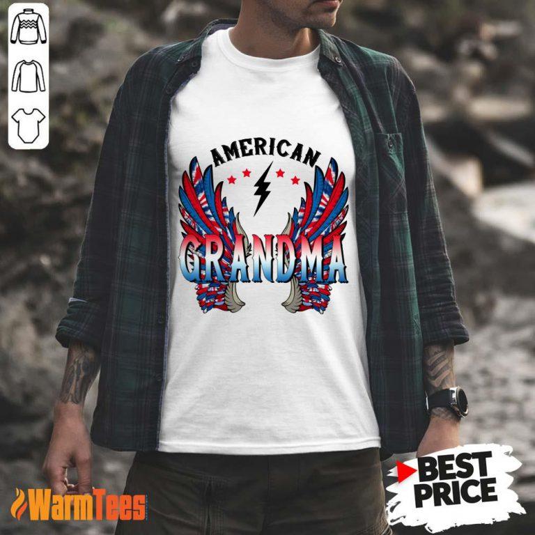 American Grandma Wings Shirt