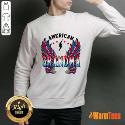 American Grandma Wings Sweater