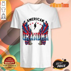 American Grandma Wings V-neck