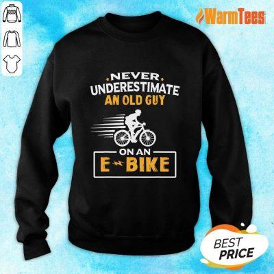 An Old Guy On An E Bike Sweater