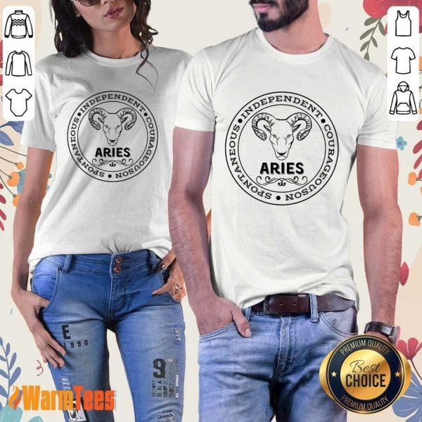 Aries Independent Ladies Tee